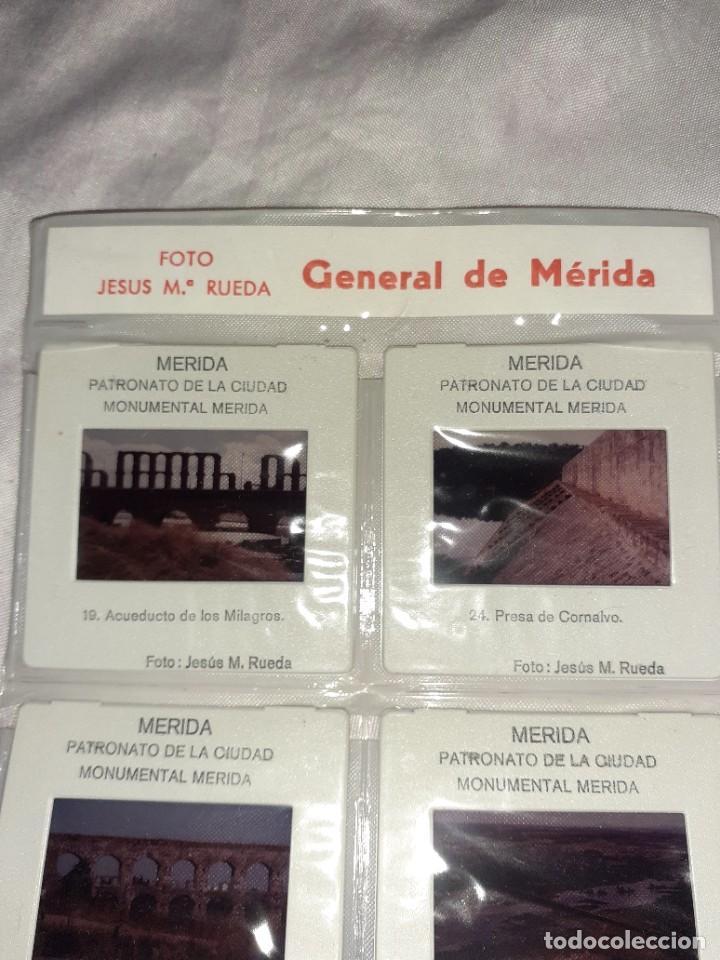 Fotografía antigua: 8 diaposgeneral de Mérida foto Jesús MARÍA rueda,siglo xx - Foto 2 - 245965670