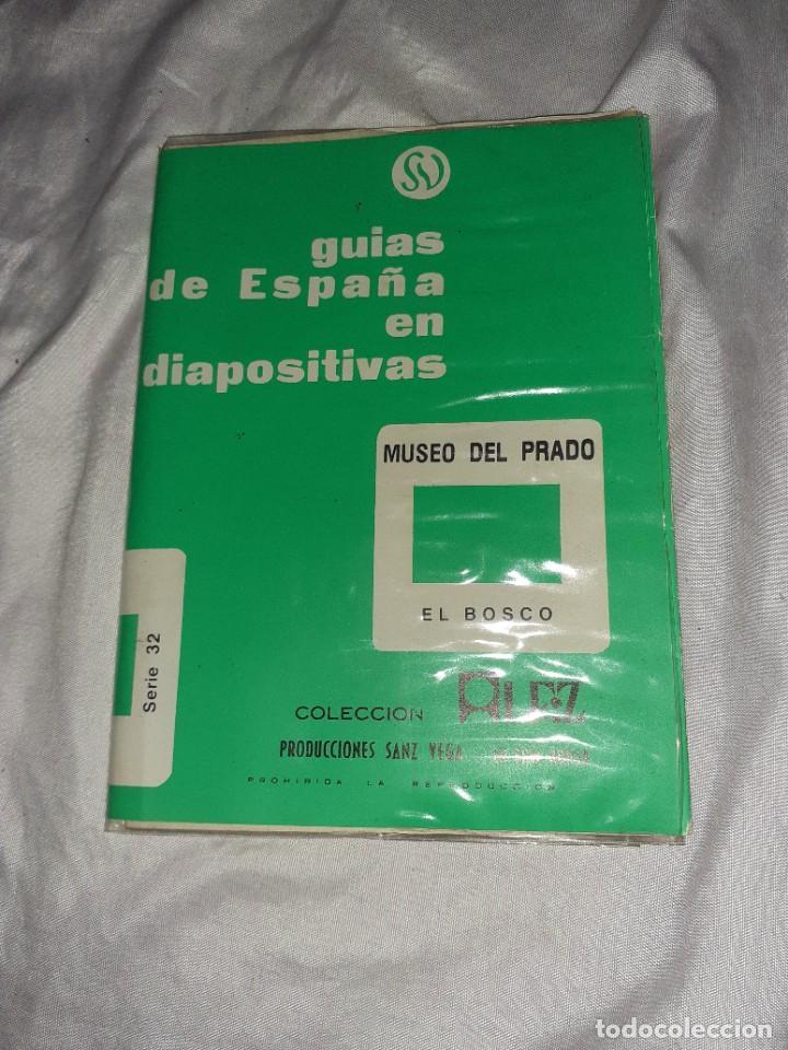 Fotografía antigua: Antiguo libreto con 12 diapositiva museo del prado serie el bosco ,Sanz vega ,kodak - Foto 4 - 245978005