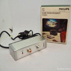 Fotografia antica: PHILIPS SLIDE SYNCHRONISER N 6401. Lote 246471540