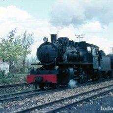Fotografía antigua: 1971 DIAPOSITIVA TREN VILLABLINO - FERROCARRIL - GALICIA - ORIGINAL 35 MM. Lote 246860470