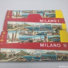 Fotografía antigua: LOTE DE 24 DISPOSITIVAS ANTIGUAS DE MILAN MILANO. Lote 261818030