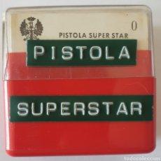 Fotografía antigua: ANTIGUO LOTE 12 DIAPOSITIVAS PISTOLA SUPER STAR. Lote 261858965