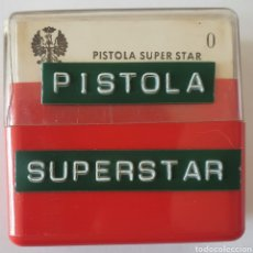 Fotografía antigua: ANTIGUO LOTE 12 DIAPOSITIVAS PISTOLA SUPER STAR. Lote 262249220