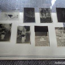 Fotografía antigua: 8 NEGATIVOS EN CELULOIDE TAMAÑO 6,5 X 4,5 CM. Lote 262352670