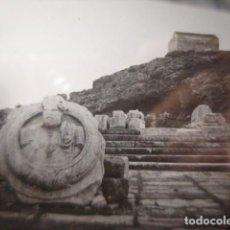Fotografía antigua: GRECIA ELEUSIS TEMPLO CRISTAL PARA LINTERNA MAGICA - FINALES SIGLO XIX - H. CABRERIZO. Lote 262494295