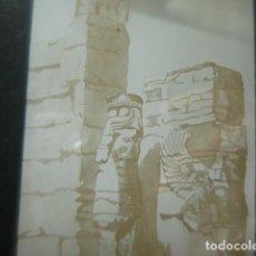 Fotografia antica: DIBUJO LOS MEDAS Y LOS PERSAS ARQUEOLOGIA CRISTAL PARA LINTERNA MAGICA - FINALES SIGLO XIX -. Lote 262822650