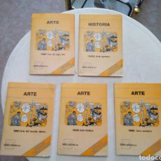 Fotografía antigua: LOTE DE 5 ARCHIVADORES DE ARTE SERIES TEMÁTICAS DIAPOSITIVAS ( HIARES EDITORIAL ). Lote 269848253
