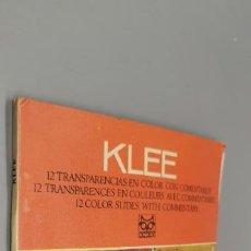 Fotografía antigua: LIBRO DE DIAPOSITIVA DE LA EDITORIAL CODEX KLEE. Lote 270946673