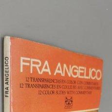 Fotografía antigua: FRA ANGELICO - 12 DIAPOSITIVAS COLOR - EDITORIAL CODEX. Lote 270947238