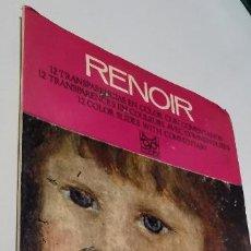 Fotografía antigua: LIBRO RENOIR 12 TRANSPARENCIAS EN COLOR, EDICIONES CODEX. Lote 277564388