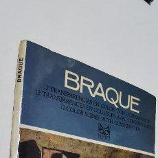 Fotografía antigua: 12 DIAPOSITIVAS BRAQUE CODEX. Lote 277600548