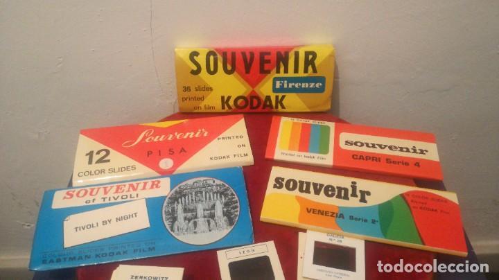 Fotografía antigua: Diapositivas ~ SOUVENIR KODADK ~ LOTE - Foto 2 - 278819733