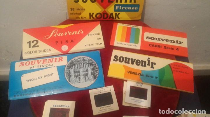 Fotografía antigua: Diapositivas ~ SOUVENIR KODADK ~ LOTE - Foto 3 - 278819733