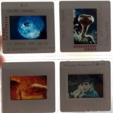 Fotografía antigua: E.T. EL EXTRA-TERRESTRE DE STEVEN SPIELBERG 8 DIAPOSITIVAS 1982-83. Lote 283383168