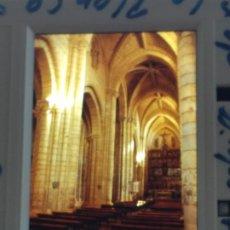 Fotografia antica: VILLALCAZAR DE SIRGA PALENCIA ANTIGUA DIAPOSITIVA POR VIAJERO ALEMAN. Lote 287100238