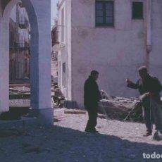 Fotografía antigua: LLANÇÀ. GIRONA. CALLE. PESCADORES. C.1965. Lote 288337948