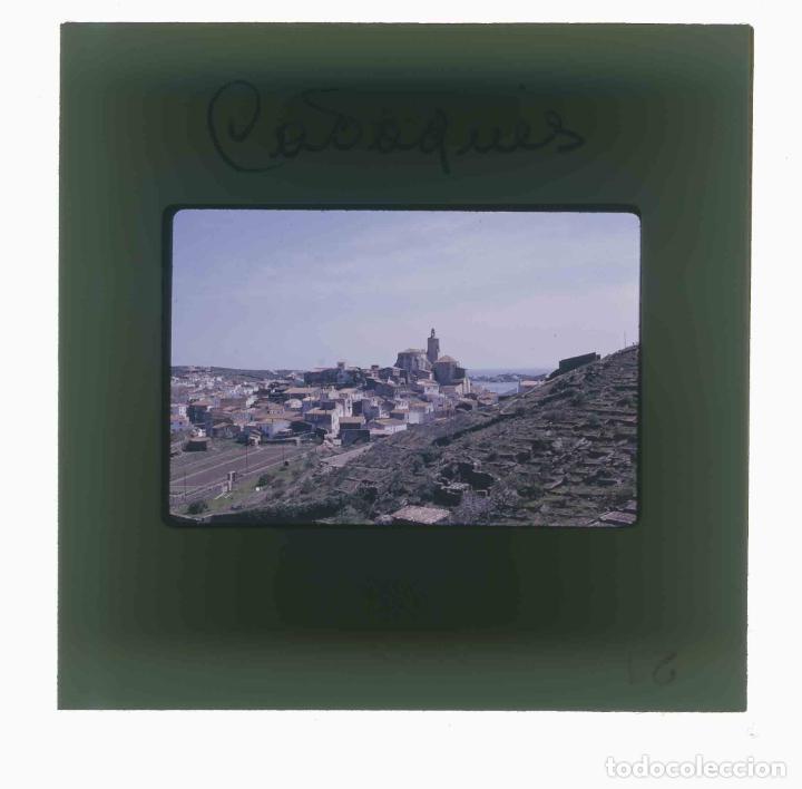 Fotografía antigua: GIRONA. Cadaqués. Pueblo. Preciosa foto. c.1965 - Foto 3 - 288528863