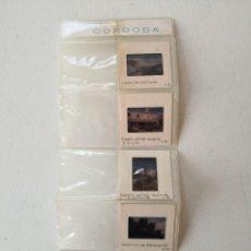 Fotografía antigua: LOTES DE 6 DIAPOSITIVAS CÓRDOBA - EN BLISTER ENVÍO CERTIF 4,99. Lote 292608343