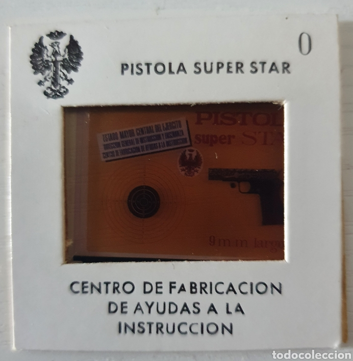 Fotografía antigua: ANTIGUO LOTE DIAPOSITIVAS PISTOLA SUPER STAR 9MM - Foto 4 - 293672633