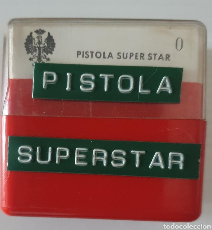 ANTIGUO LOTE DIAPOSITIVAS PISTOLA SUPER STAR 9MM (Fotografía Antigua - Diapositivas)