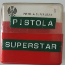 Fotografía antigua: ANTIGUO LOTE DIAPOSITIVAS PISTOLA SUPER STAR 9MM. Lote 294960738