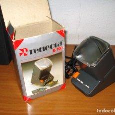 Fotografía antigua: REFLECTA B100 VISOR DE DIAPOSITIVAS (MUY POCO USADO). Lote 295514038