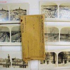 Fotografía antigua: SEVILLA 14 VISTAS EL TURISMO PRACTICO. AÑOS 1920-30.. Lote 26854207