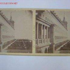 Old photograph - EL ESCORIAL Jardin y fachada del Monasterio - 2236467