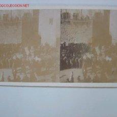 Fotografía antigua: GERONA VISTA 9 MERCADO DE GANADO. Lote 23081787