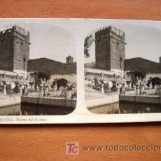 Fotografía antigua: EL TURISMO PRÁCTICO - Nº 7 CÓRDOBA - RESTOS DEL ALCAZAR. Lote 26151849
