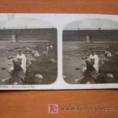 Fotografía antigua: EL TURISMO PRÁCTICO - Nº 2 - GERONA - PUENTE SOBRE EL TER. Lote 25888436