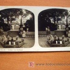Fotografía antigua: EL TURISMO PRÁCTICO - Nº 12 - SEVILLA - ALCÁZAR LOS JARDINES. Lote 22392393