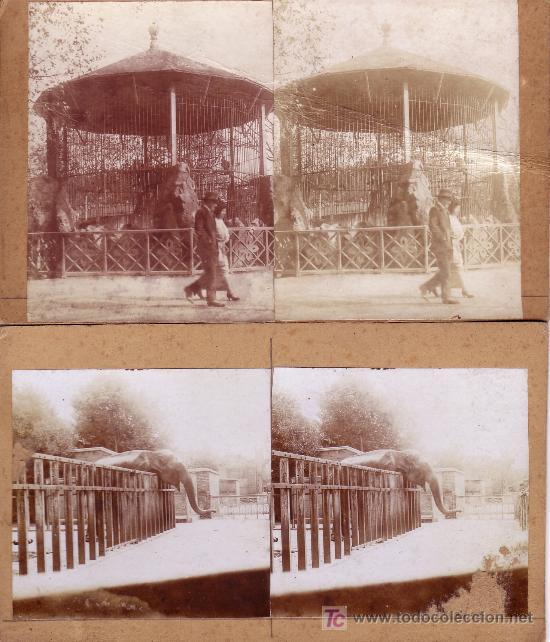 Fotografía antigua: 3 Vistas de BARCELONA. Parque de la ciudadela y zoo. - Foto 2 - 118422816