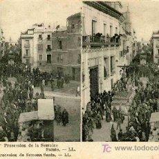 Fotografía antigua: FOTOGRAFIA ESTEREOSCOPICA CARTULINA 9X14 ESPAÑA. Lote 4660655