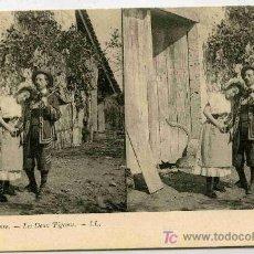 Fotografía antigua: FOTOGRAFIA ESTEREOSCOPICA CARTULINA DE 9X14 ESCENAS DE GENTE Nº14. Lote 4662210