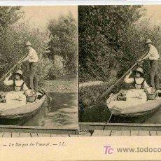 Fotografía antigua: FOTOGRAFIA ESTEREOSCOPICA CARTULINA DE 9X14 ESCENAS DE GENTE Nº15. Lote 4662212