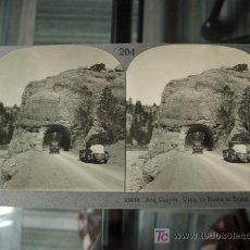 Fotografía antigua - ESTEREO DE COCHES ANTIGUOS EN UTAH, USA - 16325777
