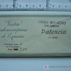 Fotografía antigua: PALENCIA - COLECCION Nº 58 - RELLEV - COMPLETA CON 15 VISTAS. Lote 27185382
