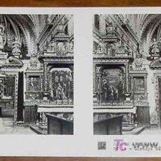 Fotografía antigua: ANTIGUA ESTEREOSCOPIA DE BURGOS - 3ª SERIE - COLECCION N. 63 - ED. RELLEY - CARTUJA DE MIRAFLORES - . Lote 7358337