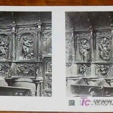 Fotografía antigua: ANTIGUA ESTEREOSCOPIA DE BURGOS - 3ª SERIE - COLECCION N. 63 - ED. RELLEY - CARTUJA DE MIRAFLORES - . Lote 7358370