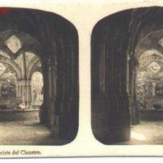 Fotografía antigua: TARRAGONA-POBLET. Lote 18935709