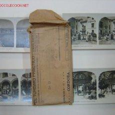 Fotografía antigua: CORDOBA COLECCION COMPLETA DE 14 VISTAS EL TURISMO PRACTICO. Lote 26854209
