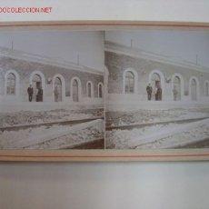 Fotografía antigua: AGRES (ALICANTE) - ESTACION. Lote 27228135