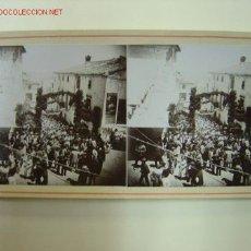 Fotografía antigua: AGRES (ALICANTE) - ROMERIA. Lote 26895688