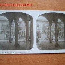 Fotografía antigua: Nº 13 SEVILLA - PATIO DEL PALACIO ARZOBISPAL ( EL TURISMO PRACTICO ). Lote 25000591