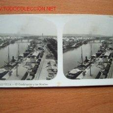 Fotografía antigua: Nº 3 SEVILLA - EL GUADALQUIVIR Y LOS MUELLES ( ELTURISMO PRACTICO). Lote 24956354