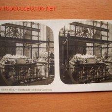 Fotografía antigua: Nº 12 GRANADA - TUMBA DE LOS REYES CATÓLICOS ( EL TURISMO PRACTICO ). Lote 10227324