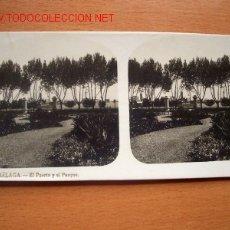Fotografía antigua: Nº 4 MÁLAGA - EL PUERTO Y EL PARQUE. Lote 24893480