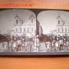 Fotografía antigua: CATEDRAL DE SAN PEDRO EN SAU PAULO AÑO 1918. Lote 24692121