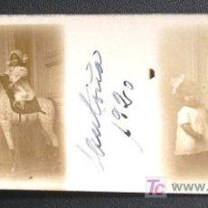 Fotografía antigua: SANTOÑA. RETRATO DE NIÑAS. AÑO 1920 - SANTANDER.. Lote 13655978